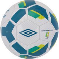 Bola De Futsal Umbro Hit Supporter - Branco/Azul