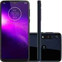 Smartphone Motorola Moto One Macro 64Gb 4Gb Ram Nacional Azul Escuro