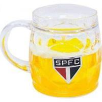 Caneca Cerveja Base Grossa 400Ml - Spfc - Unissex-Incolor