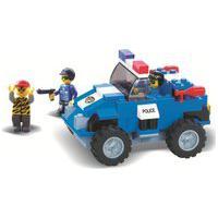 Blocos De Encaixe Xalingo Defensores Da Ordem Polícia 119 Peças Azul