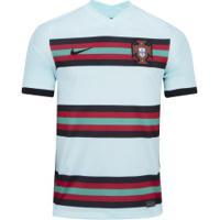 Camisa Seleção De Portugal Ii 20/21 Nike - Masculina - Verde Claro/Preto