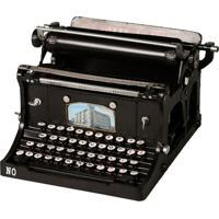 Miniatura Máquina De Escrever Continental Retrô Decorativa De Metal