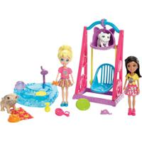 Mini Boneca Com Acessórios - Polly Pocket - O Melhor Dia De Todos - Polly No Parque - Mattel - Feminino