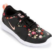 Tênis Nike Infantil Flex Contact 3 Vf Feminino - Masculino-Preto+Pink