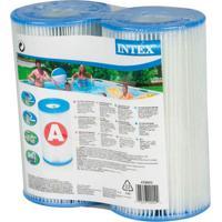 Kit Com 2 Filtros Para Bomba De Piscina 29002 Intex