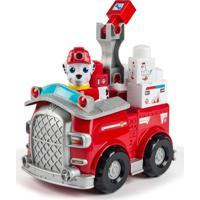 Veículo Com Blocos De Montar - Patrulha Canina - Marshall E Carro De Resgate - Sunny - Masculino-Incolor