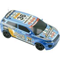 Carrinho De Controle Remoto Motor Sport - 7 Funções - Unissex-Azul