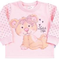 Conjunto Pulla Bulla Bebê Moletom Feminino - Feminino-Rosa