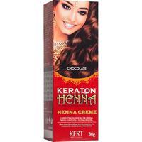 Keraton Henna Creme Chocolate 80G - Unissex-Incolor