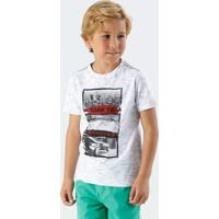 Camiseta Infantil Estampa Cidade Frase Marisa