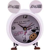 Despertador Nina C/ Som P 7X8X4Cm Trevisan Concept