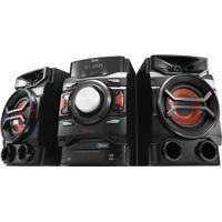 Mini System Lg X Boom Cm4350 220W Rms Com Multi Bluethooth Dual Usb E Rádio Am/Fm – Bivolt