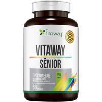 Vitaway Sênior- 60 Cápsulas- Fitowayfitoway