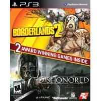 Jogo Borderlands 2 & Dishonored Bundle Ps3