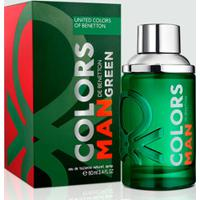 Perfume Colors Man Green Masculino Benetton Eau De Toilette 60Ml