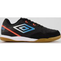 Chuteira Umbro Pro V Club Futsal Preta