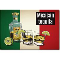 Placa Decorativa - Tequila - 0688Plmk