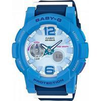 Relógio Baby-G Bga-180-2B3Dr - Unissex-Azul