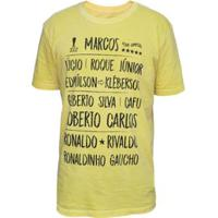 Camisa Brasil 2002 Retrô Mania Masculina - Masculino