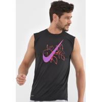 Regata Nike Sleeveless T Shirt Preta