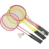Kit Badminton Infantil 2 Raquetes 1 Peteca Laranja Winmax Wmy02038