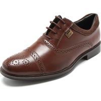 Sapato Social Mariner Brogue Marrom