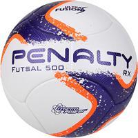 7200756b2d592 Netshoes  Bola Futsal Penalty Rx 500 R1 Fusion Viii - Unissex