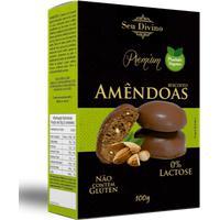 Biscoito De Amêndoas E Chocolate Seu Divino120G