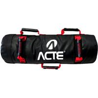 Sand Bag- Preta & Vermelha- 22X73Cm- 20Kg- Aacte