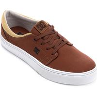 ... Tênis Dc Shoes Trase Tx Masculino - Masculino-Marrom 9d9b20afcc2a7