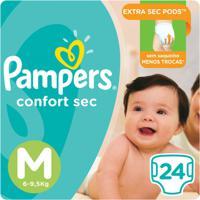 Fralda Pampers Confort Sec 24 Unidades - Unissex-Incolor