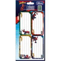 Etiqueta Adesiva Escolar Tilibra Spider-Man Com 8 Unidades