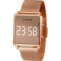 Relógio Lince Digital Led Mdr4619L Bxrx Feminino - Feminino