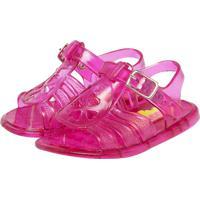 Sandália Tricae Infantil Aranha Glitter Rosa