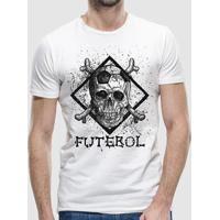 Camiseta Caveira Futebol Clube Masculina - Masculino