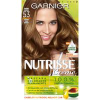 Tintura Garnier Nutrisse Kit Creme Cor 53 Castanho Caramelo