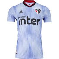 Camisa Do São Paulo Iii 2019 Adidas - Masculina - Azul/Preto
