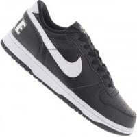 Tênis Nike Big Low - Masculino - Preto/Branco