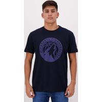 Camiseta New Era Nba Minnesota Timberwolves Marinho