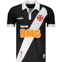 Camisa Diadora Vasco I 2019 C/ Patrocínio Masculina - Masculino