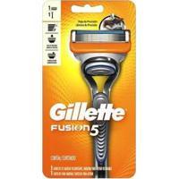 Aparelho De Barbear Gillette - Unissex-Laranja+Cinza