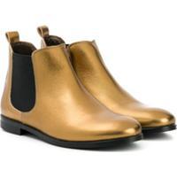 Bonpoint Ankle Boots - Dourado