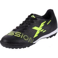 19b9df83513 Netshoes  Chuteira Oxn Mission Society Adulto - Masculino-Preto
