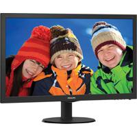 "Monitor Led 23,6"" 243V5Qhaba Full Hd Widescreen Vga Hdmi Dvi Preto Philips"