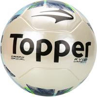 d9f43bed1cb77 Netshoes  Bola Futebol Campo Topper Kv Carbon League 2 - Unissex