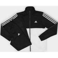 Netshoes  Agasalho Adidas Back 2 Basic 3S Masculino - Masculino 034933e6156f3