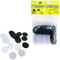 Peças Do Jogo De Dama E Trilha Para Tabuleiro Em Plástico