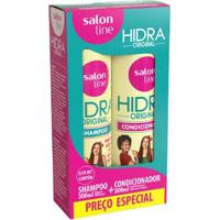 Kit 1 Shampoo Hidra Original - 300Ml 1 Condicionador Hidra Original 300Ml - Unissex-Incolor