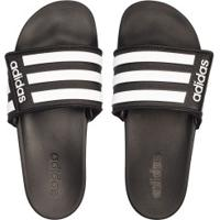 Chinelo Adidas Adilette Comfort Ajustável - Masculino - Preto/Branco