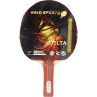Raquete Tenis De Mesa Gold Sports Delta - Unissex